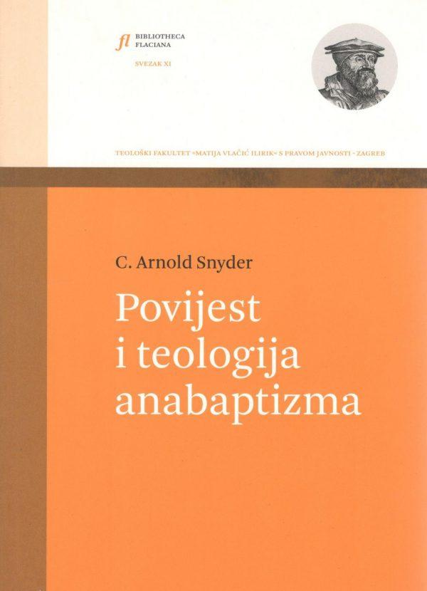 Naslovnica knjige Povijest i teologija anabaptizma