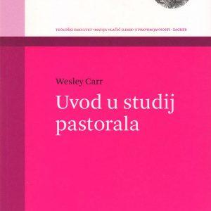 Naslovnica knjige Uvod u studij pastorala