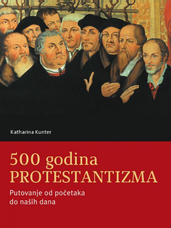 Naslovnica knjige 500 protestantizma