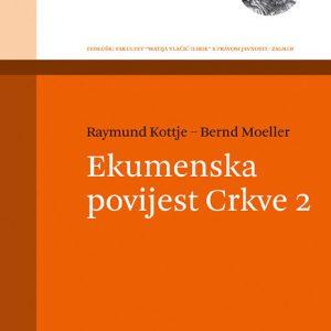 Naslovnica knjige Ekumenska povijest Crkve 2