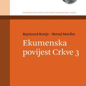 Naslovnica knjige Ekumenska povijest Crkve 3