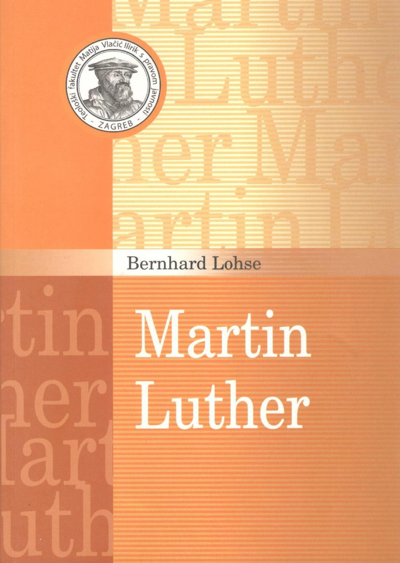 Naslovnica knjige Martin Luther