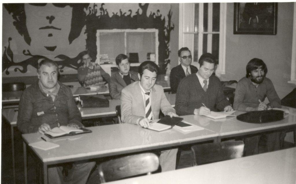Prva generacija studenata.