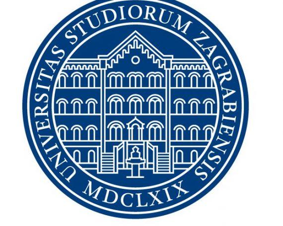 Logo of the University of Zagreb.