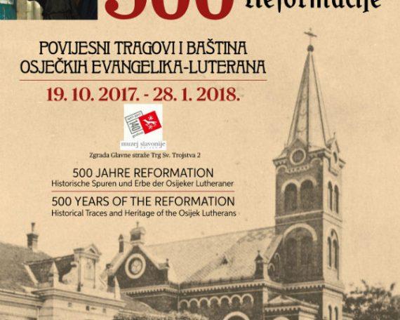Plakat izložbe 500 godina reformacije