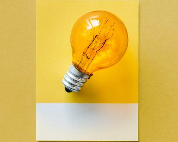 Žuta žarulja.